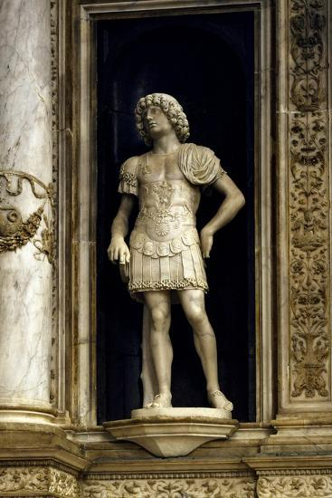 Funeral Monument of Doge Andrea Vendramin, Detail from Soldier, Basilica Di San Giovanni E Paolo--Giclee Print