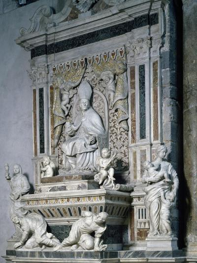 Funeral Monument of Monsignor Pietro Galletti, Catania Cathedral, Sicily, Italy--Giclee Print