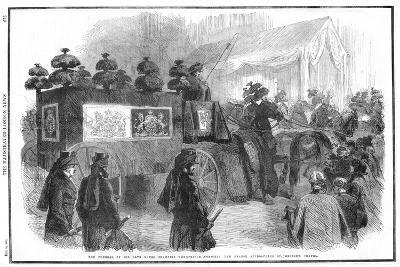 Funeral of Albert, Prince Consort, 1861--Giclee Print
