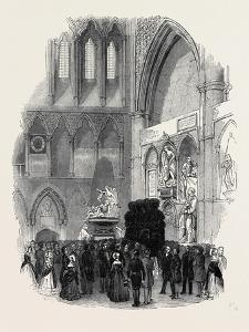Funeral of Campbell, the Poet, in Westminster Abbey, on Wednesday Last