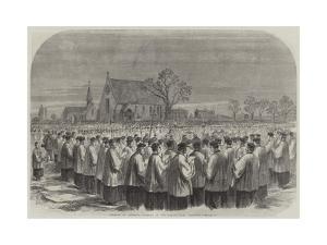 Funeral of Cardinal Wiseman in the Kensal-Green Cemetery