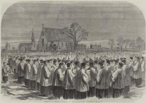 Funeral of Cardinal Wiseman in the Kensal-Green Cemetery