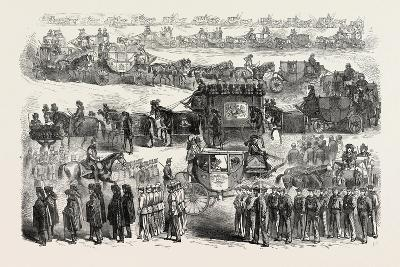Funeral of Lord Palmerston: the Procession from Cambridge House to Westminster Abbey--Giclee Print