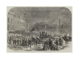 Funeral of Mr Lorimer, the Dean of Guild, at Edinburgh