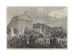 Funeral of the Duke De Morny at Paris
