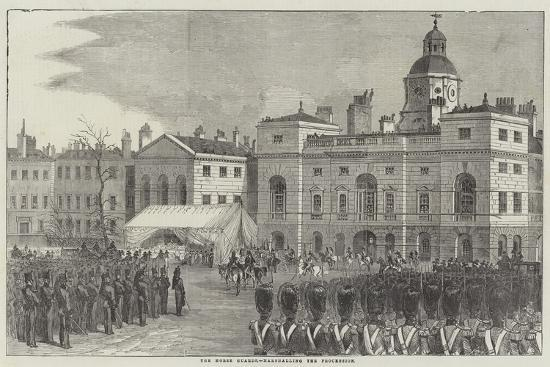 Funeral of the Duke of Wellington--Giclee Print
