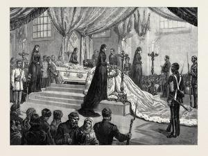 Funeral of the Empress of Russia at St. Petersburg