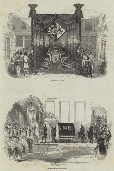 Funeral of the Late Marquis Wellesley--Giclee Print