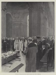 Funeral of the Late Sir John Everett Millais in St Paul's Cathedral
