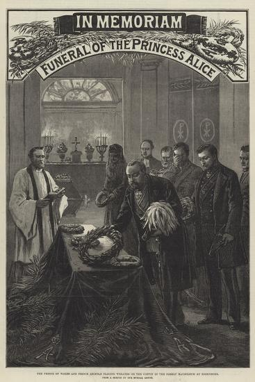 Funeral of the Princess Alice--Giclee Print