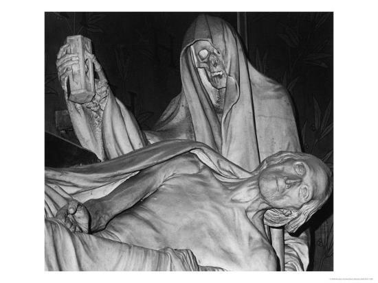 Funerary Monument, Notre Dame, Paris-Simon Marsden-Giclee Print