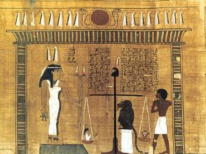 Funerary Papyrus, Ancient Egyptian, 18th Dynasty, 1550-1293 BC