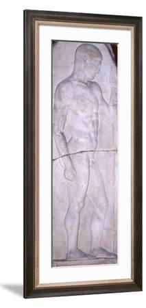 Funerary Stele from Nisyros--Framed Giclee Print