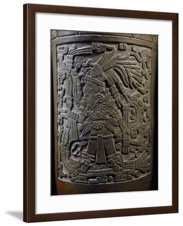 Funerary Urn with Relief Depicting God Mixcoatl, Mexico--Framed Giclee Print