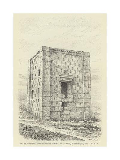 Funereal Tower at Nakht-I-Rustem--Giclee Print