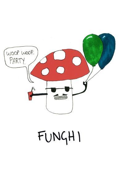 Fungi--Art Print