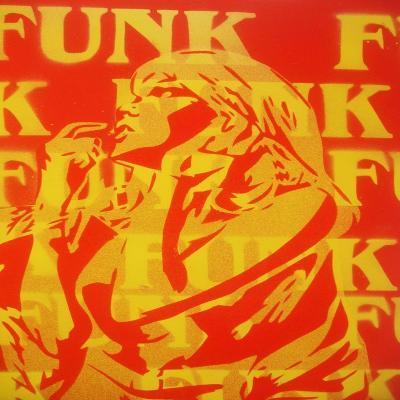 Funk-Abstract Graffiti-Giclee Print
