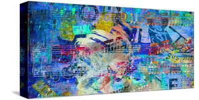 Funky 5th Movement-Parker Greenfield-Stretched Canvas Print