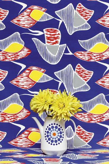 Funky Flowers II-Camille Soulayrol-Giclee Print