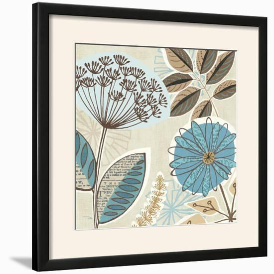 Funky Flowers IV-Pela Design-Framed Photographic Print