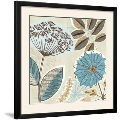Funky Flowers IV-Pela Design-Framed Photographic Print