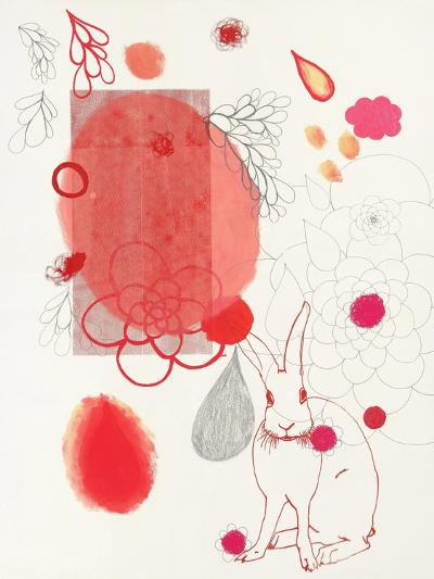 Funny Bunny Makes an Appearance-Maggie Kleinpeter-Art Print