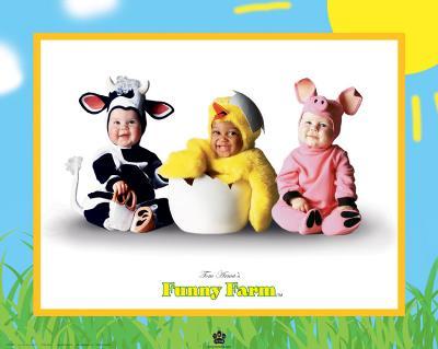 Funny Farm I-Tom Arma-Art Print