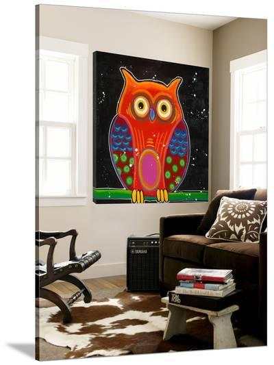 Funny Owl II-Y^ Hope-Loft Art