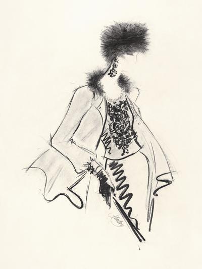 Fur Hat-Jane Hartley-Giclee Print
