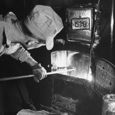 Furnace Conversion from Oil to Coal--Photographic Print