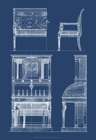 Furniture Blueprint III-Vision Studio-Art Print