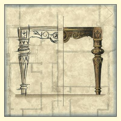Furniture Sketch IV-Vision Studio-Art Print