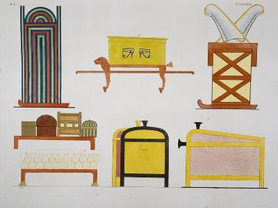 Furniture-Ippolito Rosellini-Giclee Print