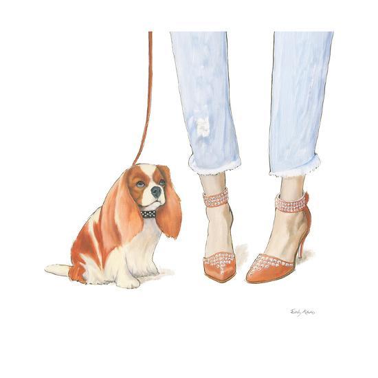 Furry Fashion Friends IV-Emily Adams-Art Print