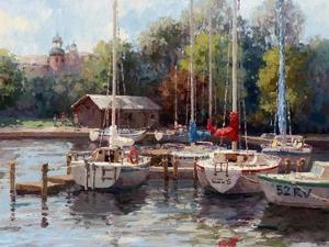 The Village Dock by Furtesen