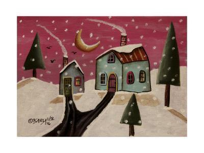 Fuschia Sky-Karla Gerard-Giclee Print