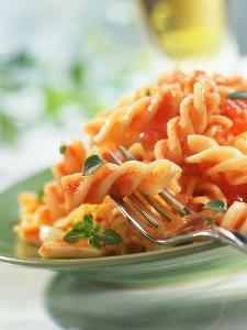Fusilli with Tomato Sauce
