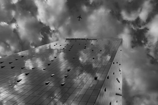 Fusion and plane-Moises Levy-Photographic Print