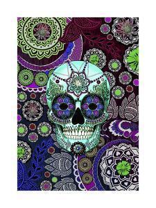 Sugar Skull Sombrero Night by Fusion Idol Arts