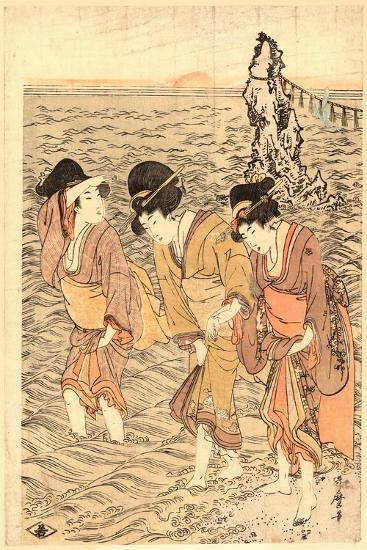 Futamigaura-Kitagawa Utamaro-Giclee Print