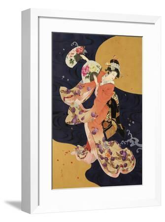 Futatsu Ogi-Haruyo Morita-Framed Giclee Print