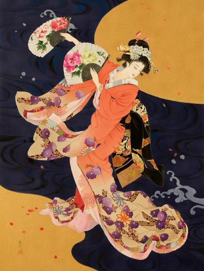 Futatsu Ogi-Haruyo Morita-Art Print