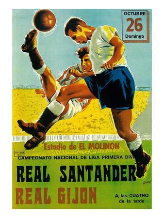 Futbol Promotion-Lantern Press-Art Print