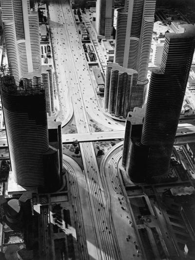 Futurama City of 1960--Photographic Print