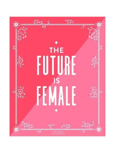 Future Female-Cat Coquillette-Giclee Print