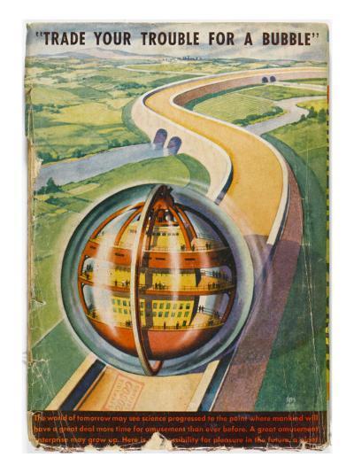Future Road--Giclee Print