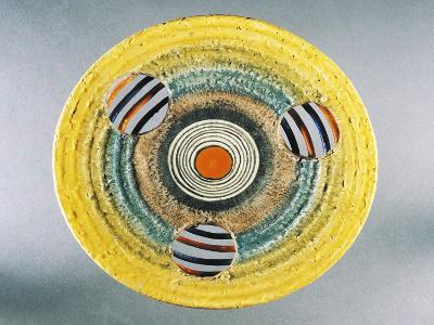 Futurist Dish, Ceramic, Albisola Manufacture, Liguria, Italy--Giclee Print