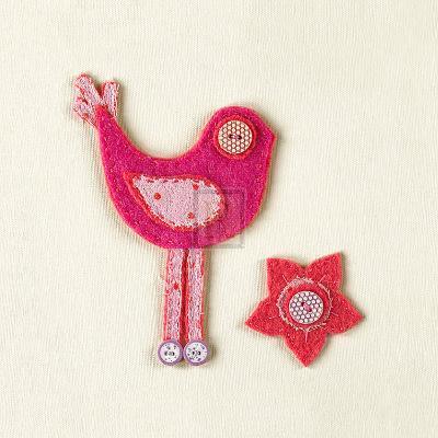Fuzzy Bird I-Madeleine Millington-Art Print