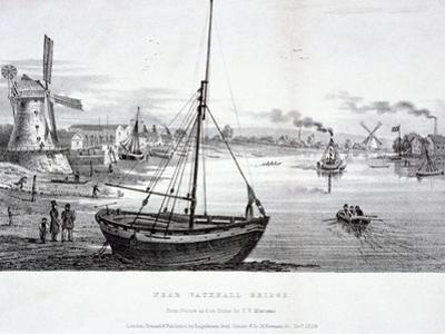 Vauxhall Bridge, London, 1829
