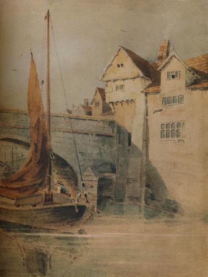 'Fye Bridge, Norwich', c1835, (1938)-John Thirtle-Giclee Print